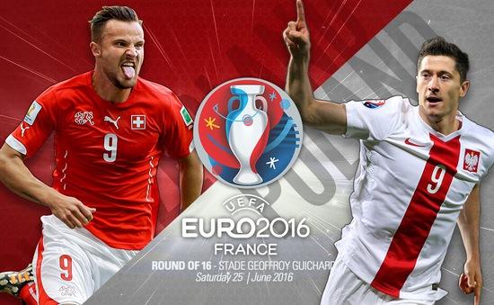 EURO 2016, Thuỵ Sĩ – Ba Lan: Chờ Lewandowski toả sáng! (20h00 trực tiếp trên VTV6 & VTV6HD)