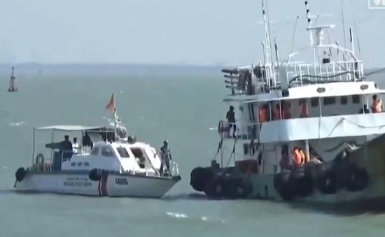 Bắt tàu Thái Lan bán 200.000 lít dầu trái phép cho tàu Việt Nam