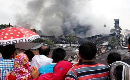 Hỏa hoạn tại nhà máy may Bangladesh, ít nhất 21 người thiệt mạng