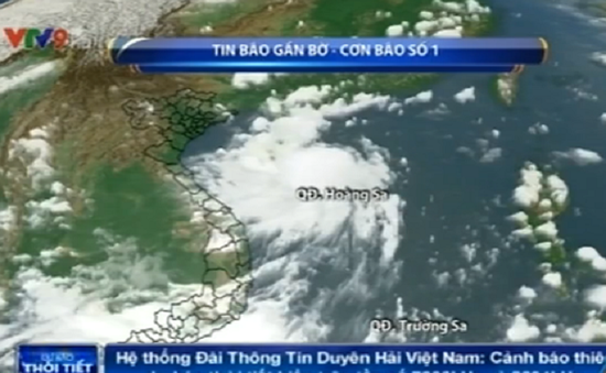 Bão số 1 ảnh hưởng trực tiếp tới Quảng Ninh, Hải Phòng