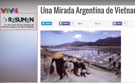 Báo Argentina ca ngợi vẻ đẹp đất nước và con người Việt Nam