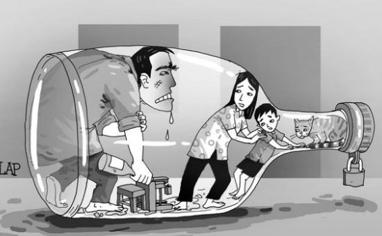 Bạo lực gia đình: Hệ lụy nổi cộm từ lạm dụng bia rượu