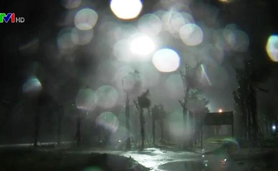 Các tỉnh miền Trung mưa to do bão số 4