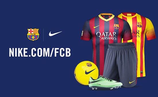 Barca ký hợp đồng tỷ USD với Nike, xô đổ kỷ lục của Man Utd và Adidas