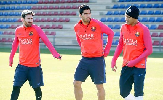 Barcelona đón một loạt trụ cột trở lại trước thềm Siêu kinh điển