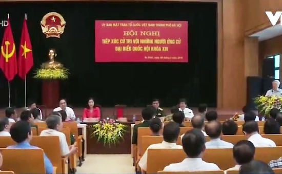 Ứng viên ĐBQH vận động bầu cử tại Hà Nội