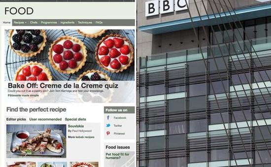BBC đóng cửa 4 trang tin tức nhằm tiết kiệm chi phí