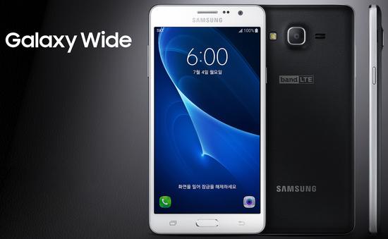 Samsung Galaxy Wide ra mắt tại Hàn Quốc với giá 275 USD