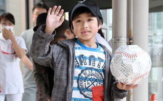 Cậu bé Nhật Bản mất tích trong rừng được xuất viện