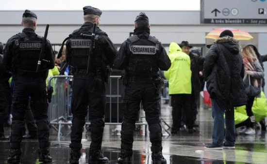 180 cảnh sát nước ngoài đến Pháp hỗ trợ an ninh cho EURO 2016