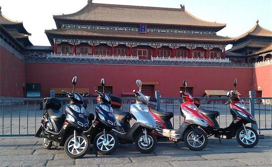 Trung Quốc cấm xe đạp điện trên nhiều tuyến phố