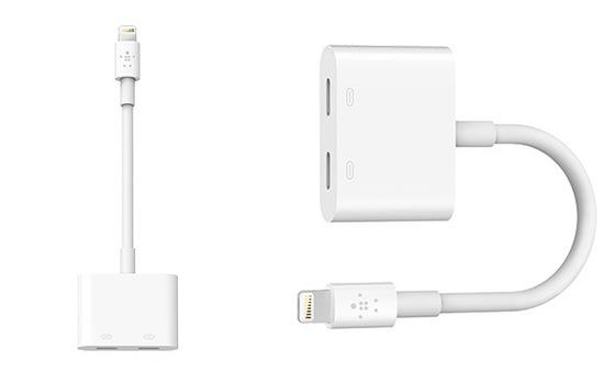 Làm sao để vừa sạc vừa sử dụng tai nghe trên iPhone 7?