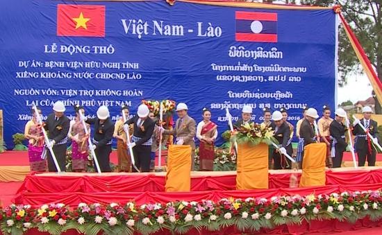 Việt Nam giúp Lào xây dựng Bệnh viện Hữu nghị Xieng Khouang
