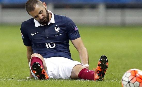 Benzema không được dự Euro 2016 vì tống tiền đồng đội