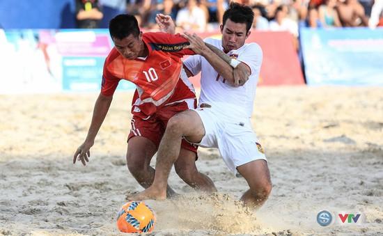 Ảnh: ĐT bóng đá bãi biển Việt Nam thắng ấn tượng trước ĐT Lào
