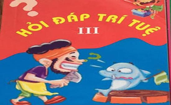 Xử phạt chủ nhà sách Minh Nguyệt vì sai phạm về phát hành xuất bản phẩm