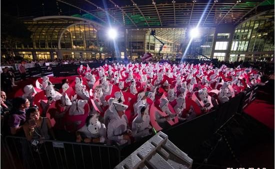 Singapore: 263 người cải trang thành ma lập kỷ lục thế giới