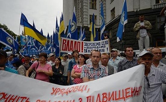 Ukraine: Phe đối lập đề nghị giải tán Quốc hội