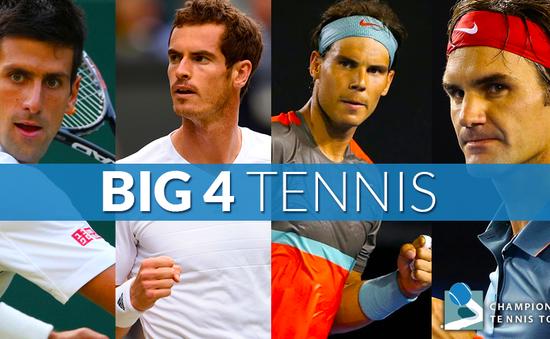 Novak Djokovic trên đường xô đổ các kỷ lục: Có còn Big Four?