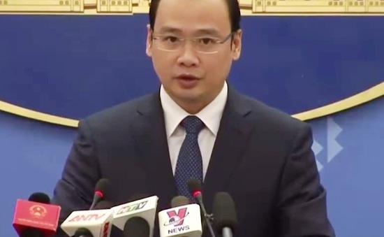 Người phát ngôn Bộ Ngoại giao: Đài Loan (Trung Quốc) đang xâm phạm chủ quyền Việt Nam