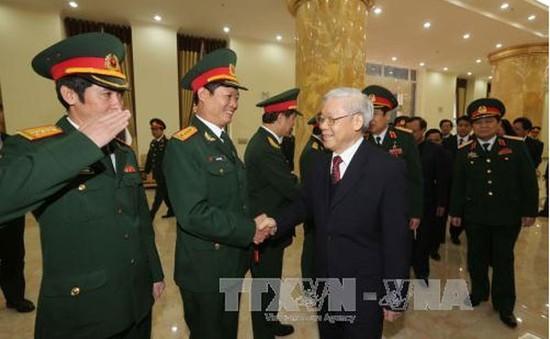 Tổng Bí thư làm việc với Bộ Tư lệnh Thủ đô Hà Nội