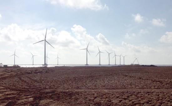 Hoàn thành trước tiến độ dự án điện gió Bạc Liêu