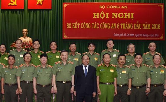 Lực lượng Công an phải đảm bảo an ninh trong mọi tình huống