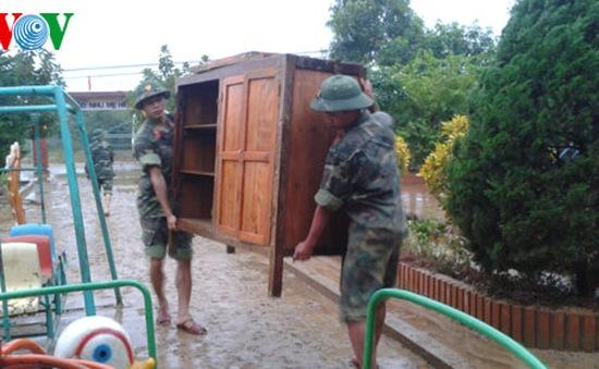 Hà Tĩnh khắc phục hậu quả mưa lũ