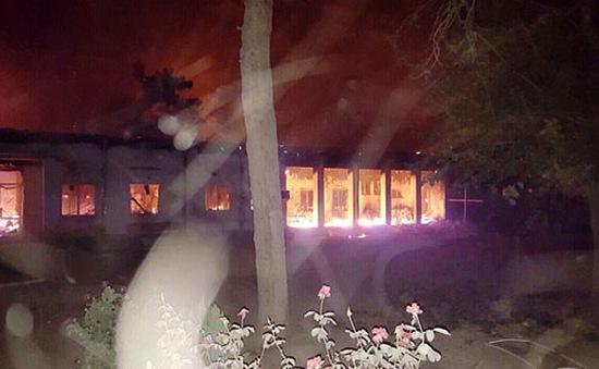 Mỹ kỷ luật quân nhân đánh bom nhầm vào bệnh viện