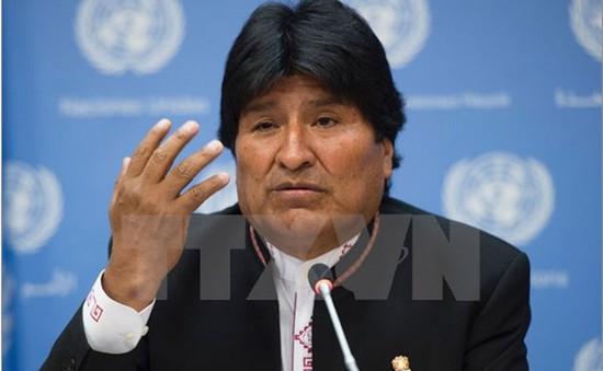 Tổng thống Bolivia tố cáo âm mưu gây bất ổn từ bên ngoài