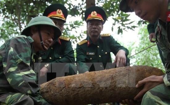 Đăk Nông: Hủy nổ thành công 2 quả bom lớn