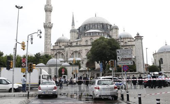 Thổ Nhĩ Kỳ bắt 4 nghi phạm đánh bom ở Istanbul