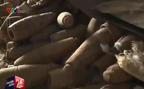100 năm nữa, Việt Nam mới sạch bom mìn