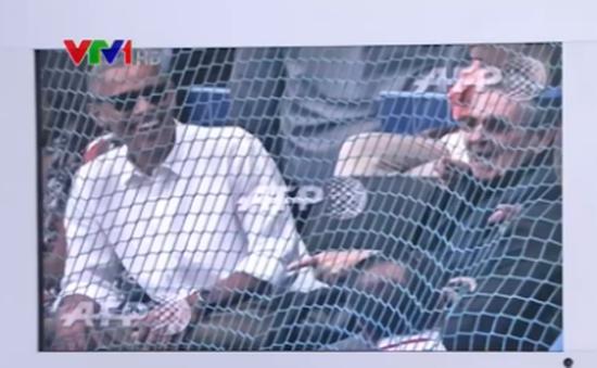 """""""Nóng"""" trận giao hữu bóng chày lịch sử Cuba - Mỹ"""