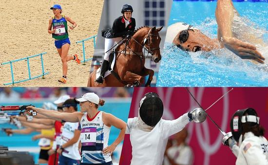 Olympic Rio 2016: Tìm hiểu về bộ môn 5 môn phối hợp hiện đại