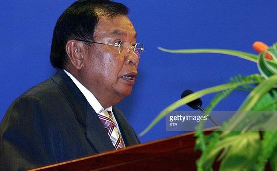 Đồng chí Bounnhang Vorachith được bầu làm Tổng Bí thư Lào