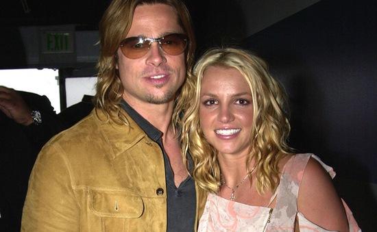 Britney Spears háo hức khi Brad Pitt ly hôn