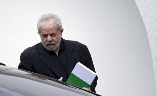 Brazil ra lệnh tạm giam cựu Tổng thống Lula da Silva