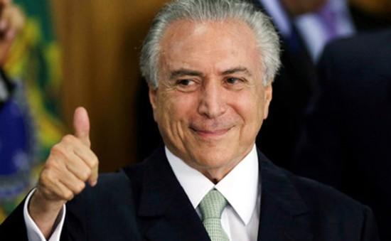 Tổng thống tạm quyền kêu gọi người dân Brazil có lòng tin vượt qua khủng hoảng