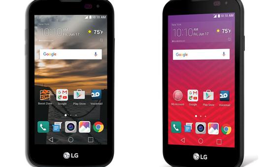 Thêm một smartphone giá rẻ của LG ra mắt tại Mỹ