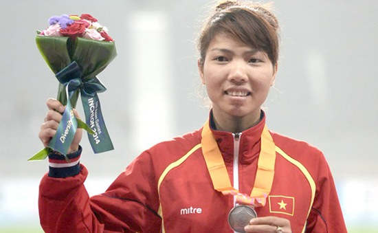 Đoạt HCB giải điền kinh trong nhà châu Á, Thu Thảo vẫn trượt vé Olympic Rio 2016