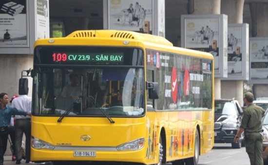 Khai trương tuyến xe bus sân bay Pleiku - Kontum