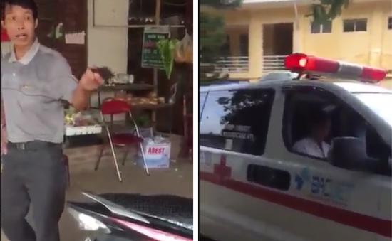 Bệnh viện cắt hợp đồng với nhà xe có hành động chặn xe cứu thương đòi tiền