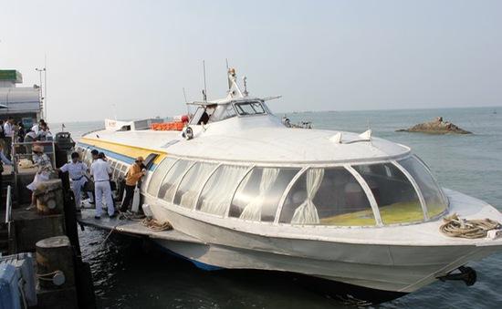Xem xét kéo dài thời gian hoạt động tàu cánh ngầm TP.HCM - Vũng Tàu