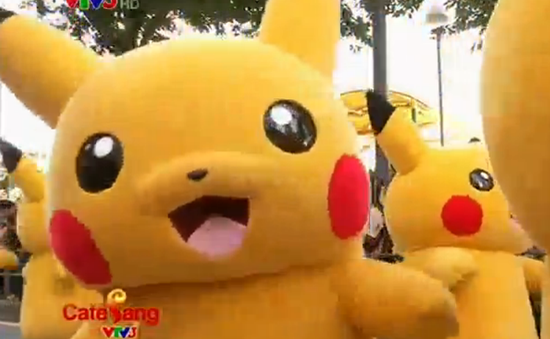 Café Sáng với VTV3: Pikachu khổng lồ khuấy động đường phố tại Nhật Bản