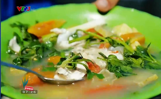Thưởng thức món canh cá sâm biển lạ miệng đưa cơm