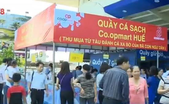 Các điểm bán cá sạch ở miền Trung hút khách
