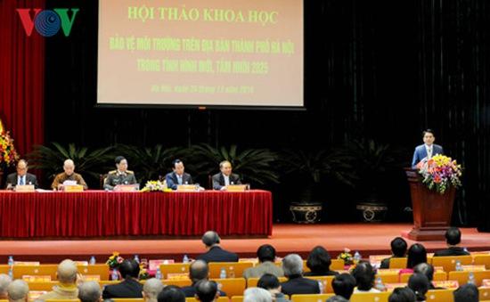 Hội thảo khoa học về Bảo vệ môi trường TP Hà Nội