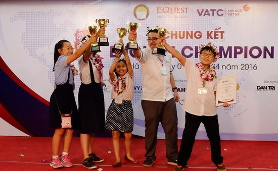 5 quán quân cuộc thi English Champion 2016 lộ diện