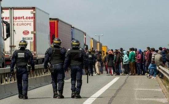 """Pháp bất lực trước """"xóm liều"""" tị nạn Calais"""